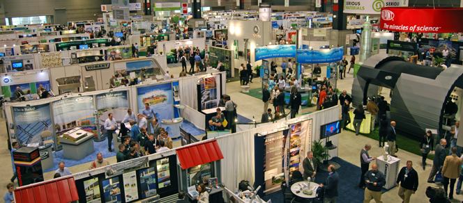 Tradeshow Floor: No One Standing Out