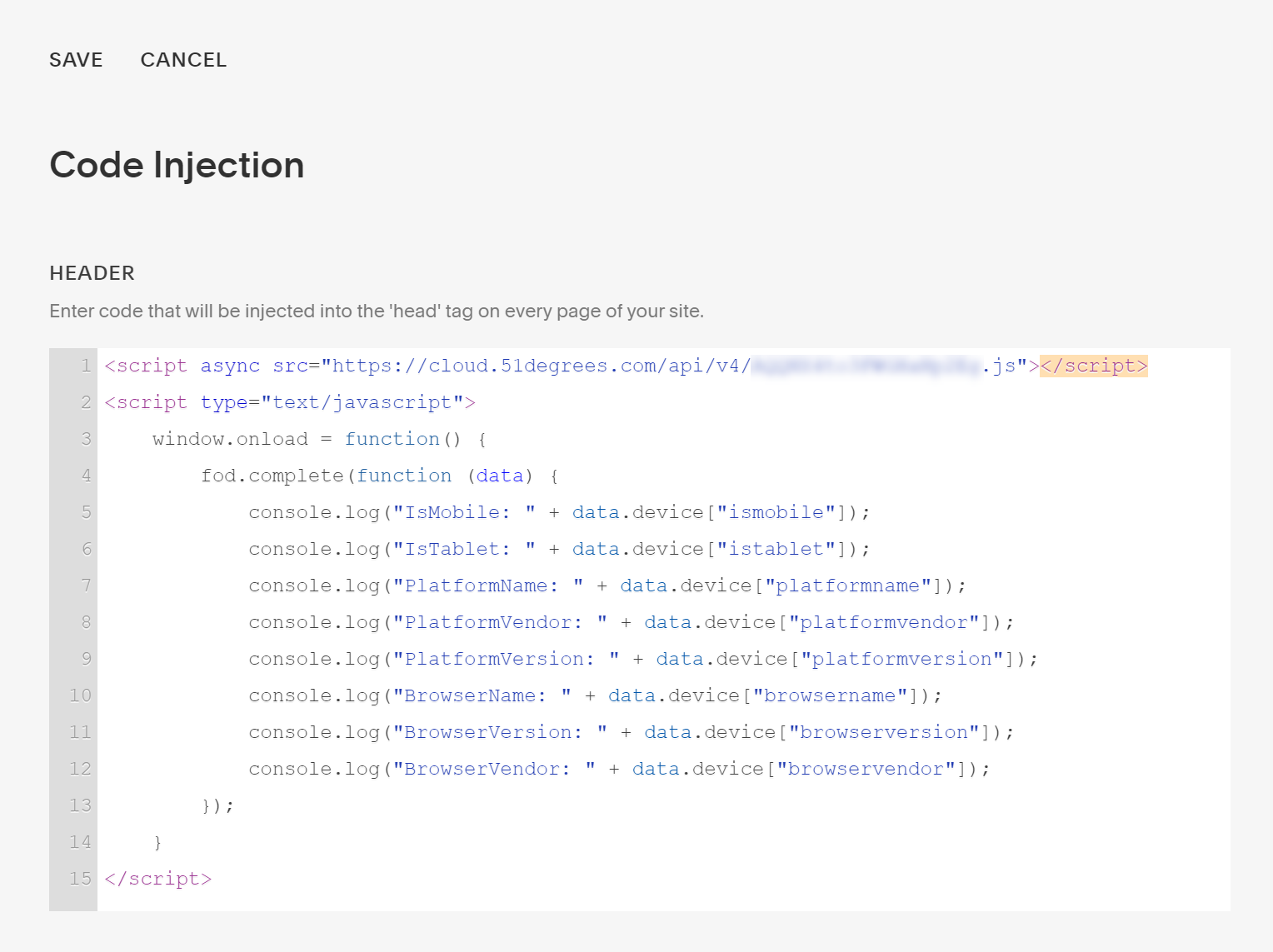 Squarespace: Code Injection